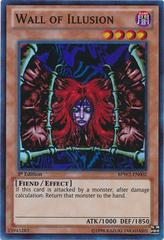 Wall of Illusion - BPW2-EN002 - Super Rare - 1st Edition