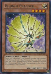 Bujingi Peacock - LVAL-EN027 - Rare - 1st Edition on Channel Fireball