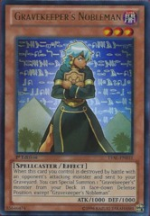 Gravekeeper's Nobleman - LVAL-EN031 - Ultra Rare - 1st Edition