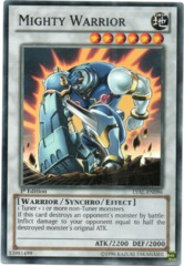 Mighty Warrior - LVAL-EN096 - Common - 1st Edition