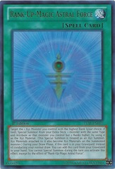 Rank-Up-Magic Astral Force - LVAL-EN059 - Ultra Rare - 1st Edition