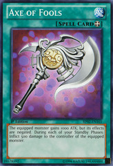Axe of Fools - BP02-EN161 - Common - Unlimited