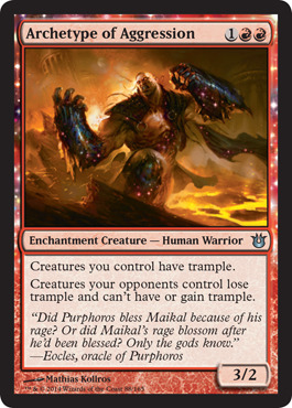 Archetype of Aggression - Foil