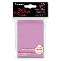 Ultra Pro Standard Size Pink Sleeves - 50ct