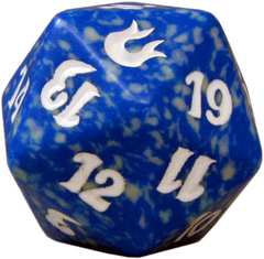 20 Sided Spindown Die - Born of the Gods (Blue) on Channel Fireball