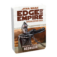 Star Wars: Edge of the Empire: Assassin Specialization Deck