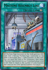Machine Assembly Line - Green - DL16-EN014 - Rare - Unlimited Edition on Channel Fireball