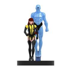 Silk Spectre and Dr. Manhattan (022)