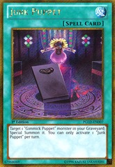 Junk Puppet - PGLD-EN007 - Gold Secret Rare - 1st Edition