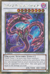 Beelze of the Diabolic Dragons – PGLD-EN016 - Gold Secret Rare - 1st Edition