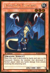 Exploder Dragon – PGLD-EN071 – Gold Rare - 1st Edition
