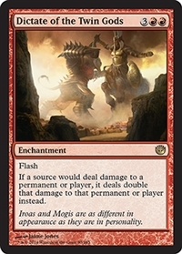Dictate of the Twin Gods - Foil