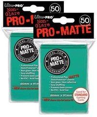 100ct Pro-Matte Aqua Standard Deck Protectors
