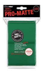 100ct Pro-Matte Green Standard Deck Protectors