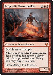 Prophetic Flamespeaker - Foil