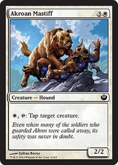 Akroan Mastiff - Foil on Channel Fireball