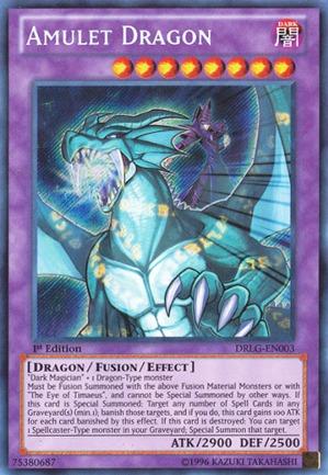 Amulet Dragon - DRLG-EN003 - Secret Rare - 1st Edition
