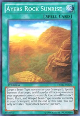 Ayers Rock Sunrise - DRLG-EN020 - Super Rare - 1st Edition on Channel Fireball