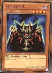 Lord of D. - Blue - DL17-EN001 - Rare - Unlimited Edition on Channel Fireball