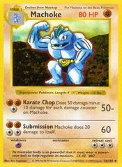 Machoke - 34/102 - Uncommon - Shadowless Edition