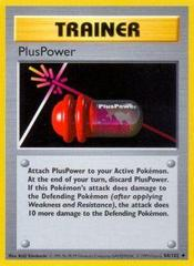 PlusPower - 84/102 - Uncommon - Shadowless Edition