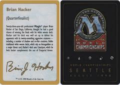 Biography - Brian Hacker - 1998