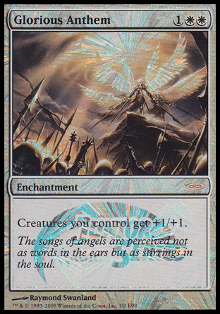 Glorious Anthem (Junior Series Promo Foil E08)
