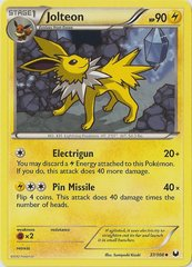 Jolteon - 37/108 - Promotional - Crosshatch Holo Autumn Regional Championships Staff 2012 Promo