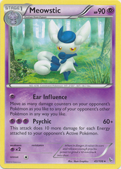 Meowstic - 43 - Cracked Ice Holo Mystic Typhoon Theme Deck Exclusive