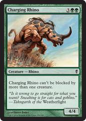 Charging Rhino - Foil