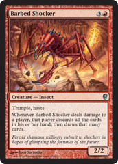 Barbed Shocker - Foil