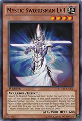 Mystic Swordsman LV4 - LCYW-EN201 - Common - Unlimited Edition