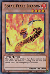Solar Flare Dragon - LCYW-EN254 - Super Rare - Unlimited Edition