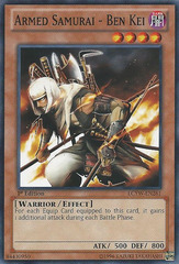 Armed Samurai - Ben Kei - LCYW-EN261 - Common - Unlimited Edition