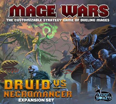 Mage Wars - Druid vs. Necromancer