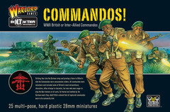 Bolt Action 28mm Commandos!