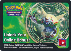 Kalos Power Chesnaught-EX Collector's Tin Unused Code Card