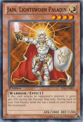 Jain, Lightsworn Paladin - SDLI-EN007 - Common - 1st Edition