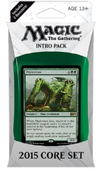 Magic 2015 Intro Pack - Green on Channel Fireball