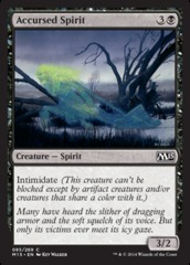 Accursed Spirit - Foil on Channel Fireball