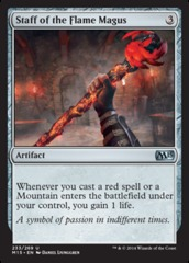 Staff of the Flame Magus - Foil