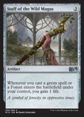 Staff of the Wild Magus - Foil