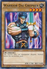 Warrior Dai Grepher - YS14-EN006 - Common - 1st Edition