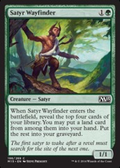 Satyr Wayfinder on Channel Fireball