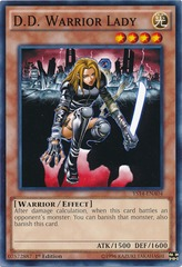 D.D. Warrior Lady - YS14-ENA04 - Common - 1st Edition