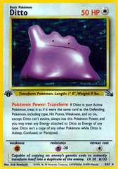Ditto - 3/62 - Holo Rare - 1999-2000 Wizards Base Set Copyright