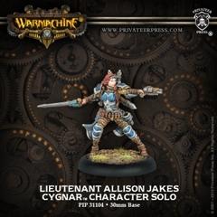 Cygnar Lieutenant Allison Jakes PIP 31104