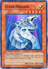 Cyber Dragon - CRV-EN015 - Super Rare - 1st Edition