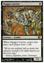 Maggot Carrier