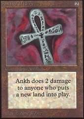 Ankh of Mishra on Channel Fireball